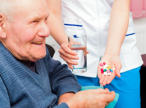 Providing the Elderly Help with Medication
