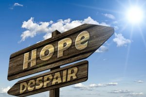 go towards the hope