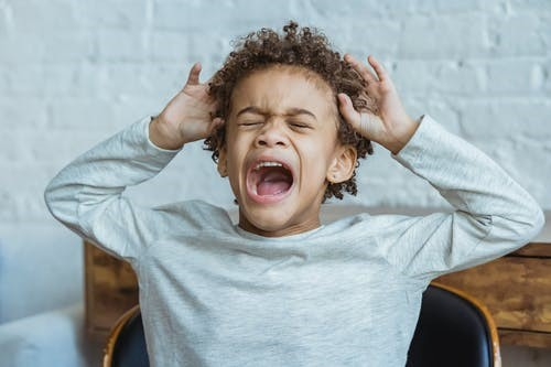 a child suffering from ADHD