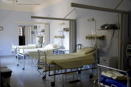 a hospital room